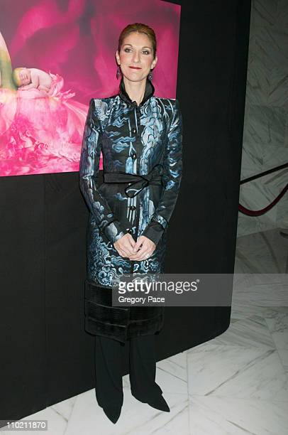 Celine Dion during Celine Dion And Renowned Photographer Anne Geddes Celebrate The Release Of Their Unprecedented CD/Book Collabaration Miracle at...