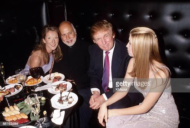 Celine Dion, husband Rene, Donald Trump & Ivanka Trump