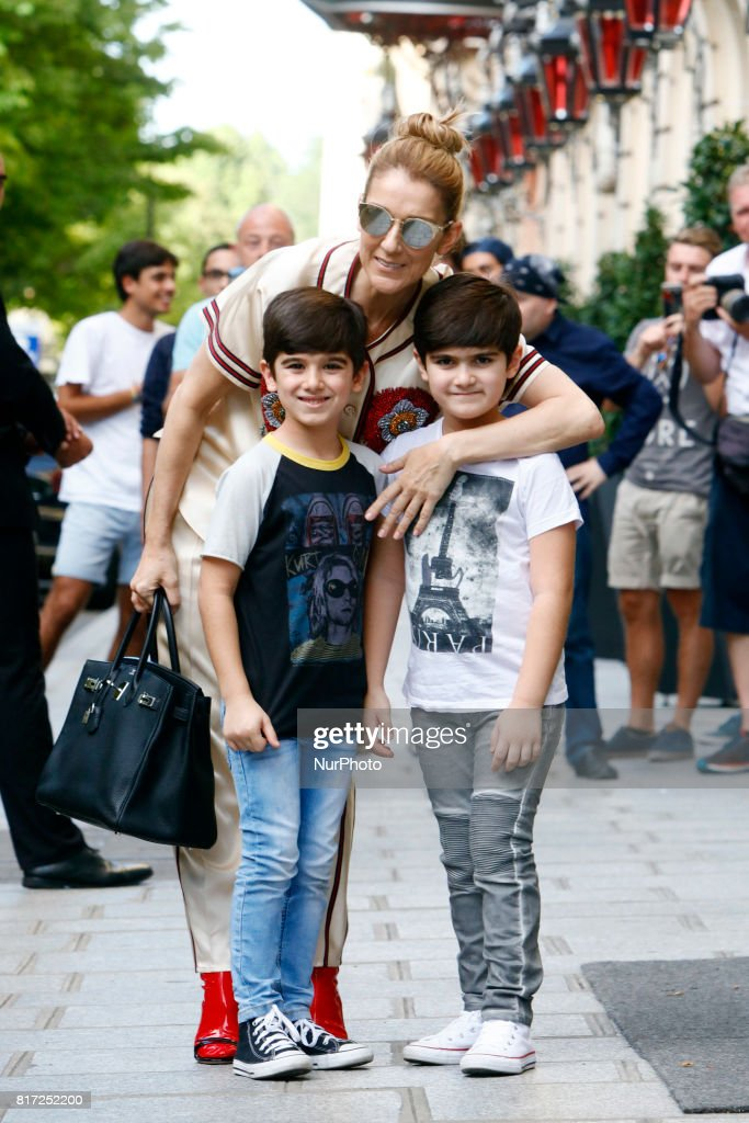 Celine Dion In Paris : News Photo
