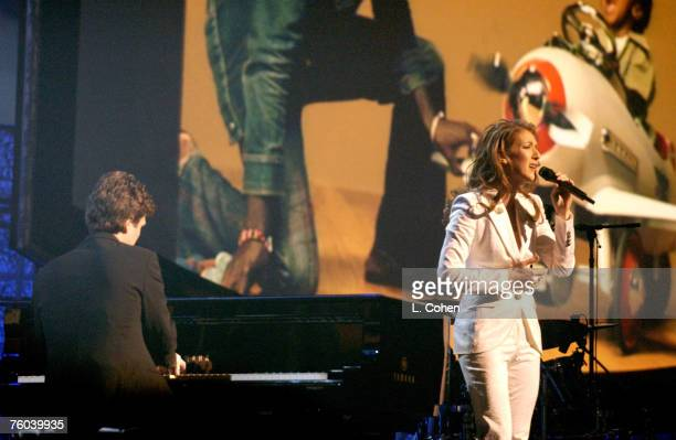Celine Dion performing 'Dance With My Father'