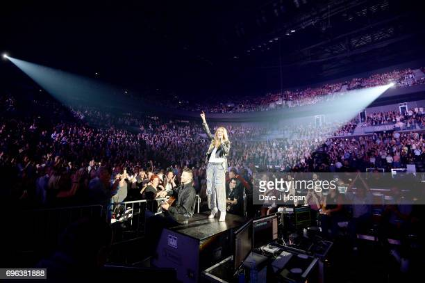 Celine Dion performs during the opening night of her Celine Dion Live 2017 tour at Royal Arena on June 15 2017 in Copenhagen