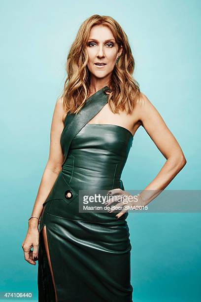 Celine Dion poses for a portrait at the 2015 Billboard Music Awards on May 17 2015 in Las Vegas Nevada