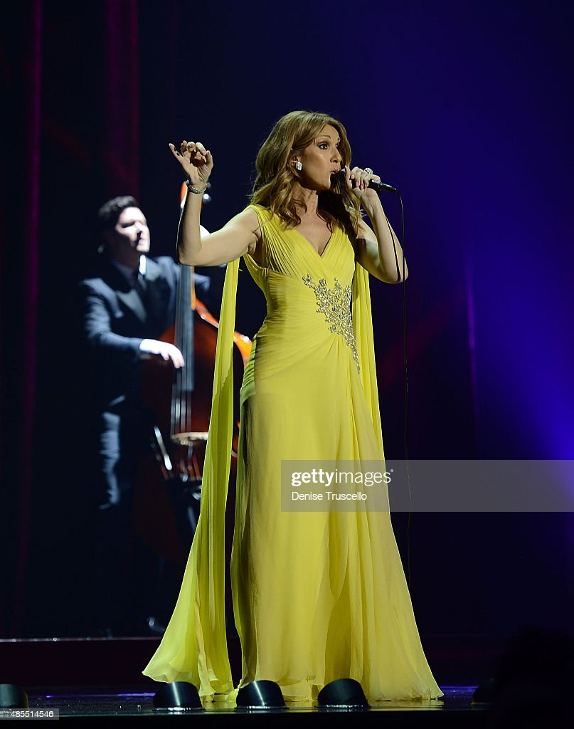 Celine Dion Premieres The Much-Anticipated Return Of Her Headline Residency Show At The Colosseum At Caesars Palace : News Photo