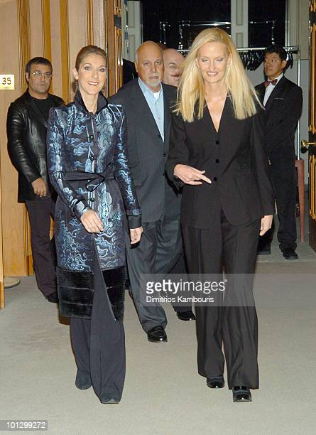 Celine Dion Rene Angelil and Anne Geddes