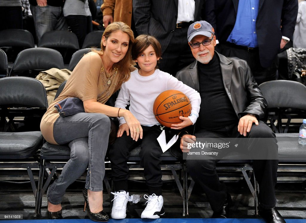 Celebrities Attend Portland Trailblazers Vs. New York Knicks