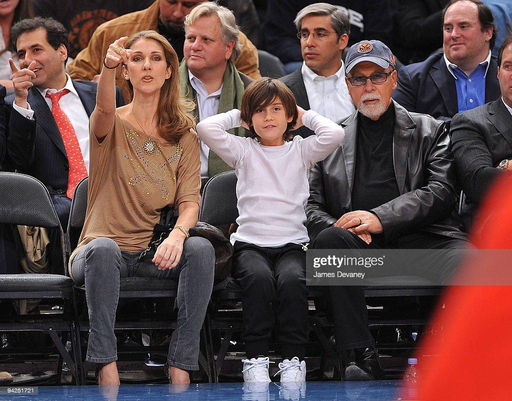 Celebrities Attend Portland Trailblazers Vs. New York Knicks