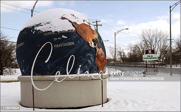 Celine Dion's name goes on a street In Charlemagne, Canada On February 03, 2007-A street in Celine Dion's hometown of Charlemagne, Que., now has a...