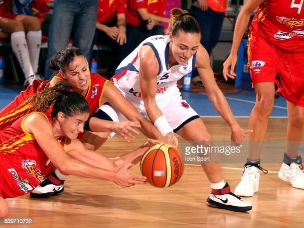 Celine DUMERC France / Espagne Championnat d'Europe de Basket Ball 2007