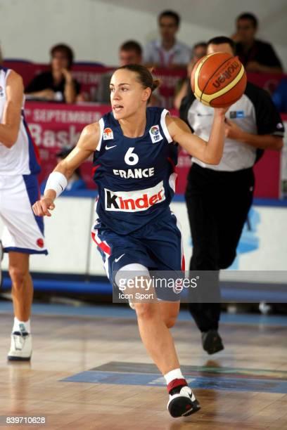 Celine DUMERC France / Russie Championnat d'Europe de Basket 2007
