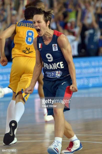 Celine Dumerc France / Suede 1/4finale des Championnats d'Europe Feminin 2013 Orchies Photo Dave Winter / Icon Sport