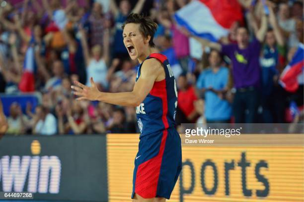 Celine Dumerc France / Espagne Finale des Championnats d'Europe Feminin 2013 Orchies Photo Dave Winter / Icon Sport