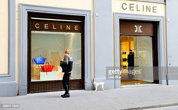 Celine Houte Couture Window Display