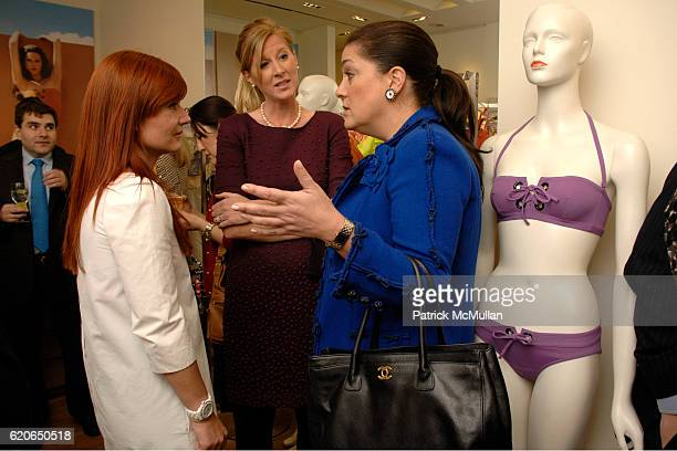 Celine Kaplan Amber Estabrook and Connie Ann Phillips attend VOGUE ERES and The American Museum of Natural History Present The FIRST LOOK Preview of...