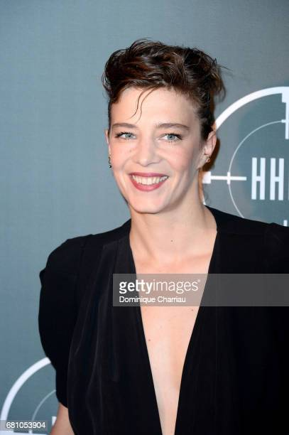 Celine Salette attends the 'HHHH' Paris Premiere at Cinema UGC Normandie on May 9 2017 in Paris France