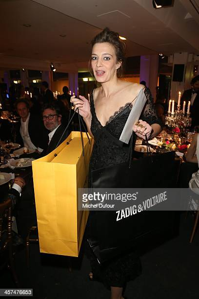 Celine Sallette attends the Annual Charity Dinner Hosted By The AEM Association Children Of The World For Rwanda on December 17 2013 in Paris France