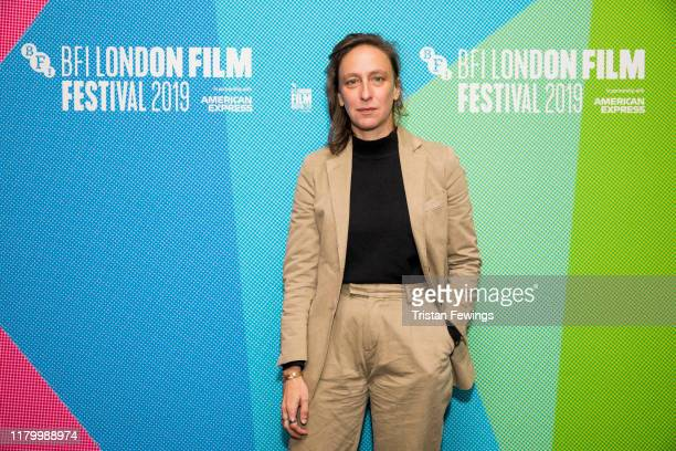 Celine Sciamma attends Screen Talk at the 63rd BFI London Film Festival at the BFI Southbank on October 09 2019 in London England