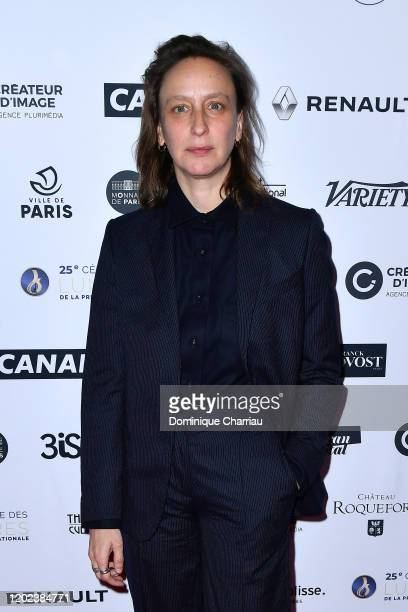 Celine Sciamma attends the 25th Lumieres De La Presse Internationale Ceremony on January 27 2020 in Paris France