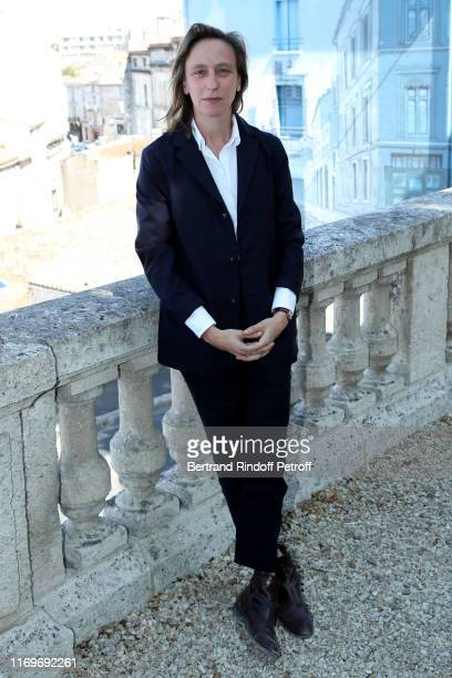 Celine Sciamma attends the Photocall of the movie Portrait de la Jeune Fille en Feu during the 12th Angouleme FrenchSpeaking Film Festival Day three...