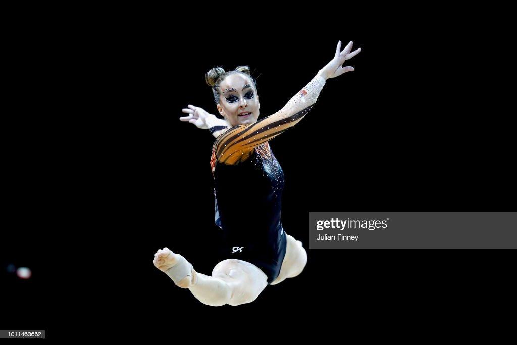 Gymnastics - European Championships Glasgow 2018: Day Four : News Photo