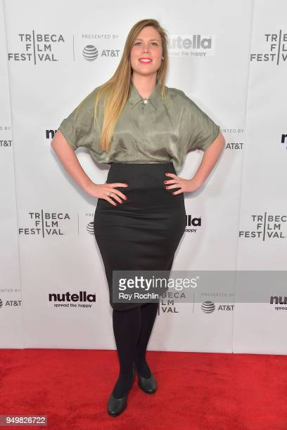 Celine Vanhoutte attends the Shorts Program The Life of Esteban during the 2018 Tribeca Film Festival at Regal Battery Park 11 on April 21 2018 in...