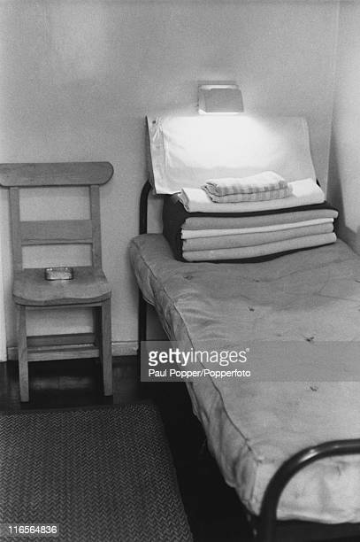 A cell at HM Prison Ford West Sussex 2nd April 1963