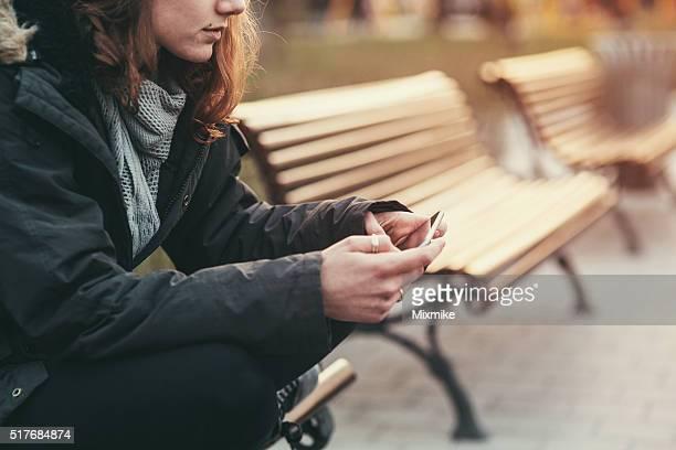 Teléfono celular interrupción