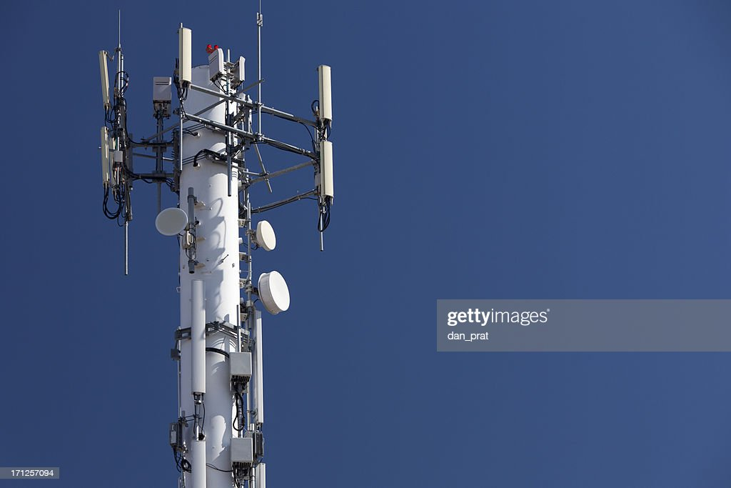 Cell Phone Tower : Stock Photo