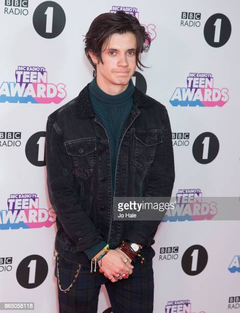 Cell Spellman attends the BBC Radio 1 Teen Awards 2017 at Wembley Arena on October 22 2017 in London England
