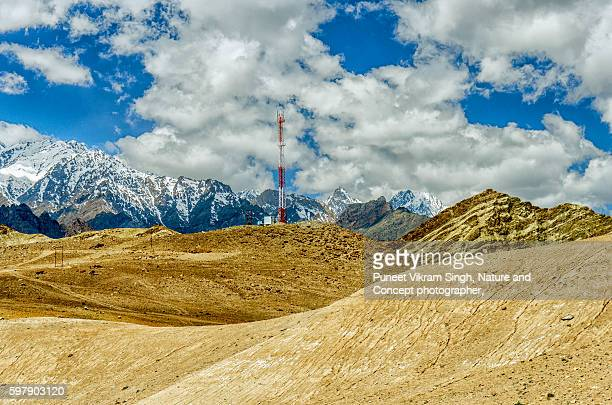 cell tower in Ladakh