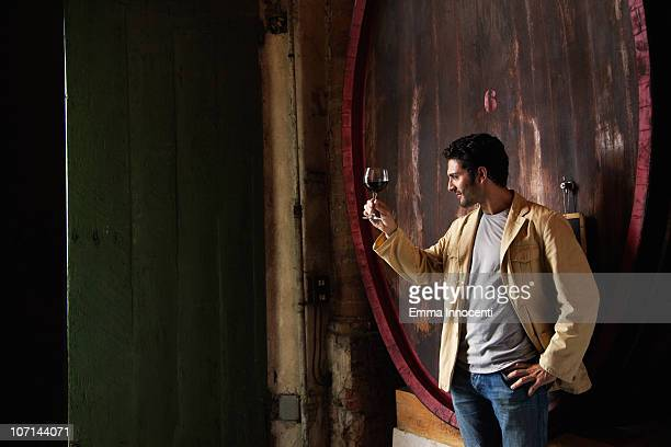 Cellar, wine glass,