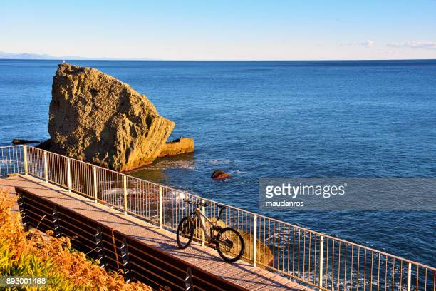 celle ligure to albissola italy - goiter stock pictures, royalty-free photos & images