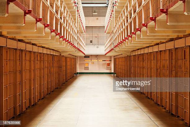 cellhouse, alcatraz - alcatraz stock photos and pictures