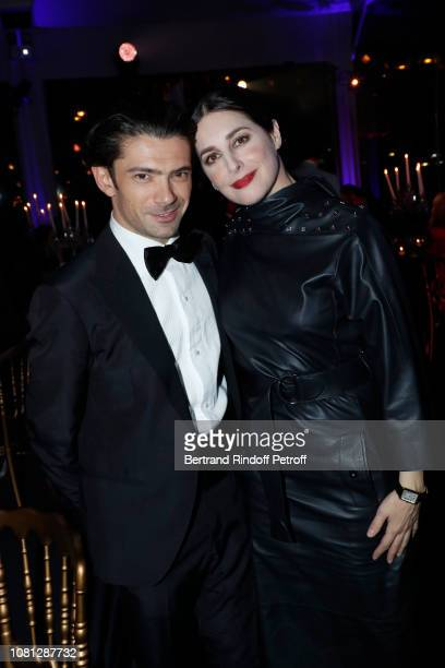 Cellist Gautier Capucon and actress Amira Casar attend the Annual Charity Dinner hosted by the AEM Association Children of the World for Rwanda at...