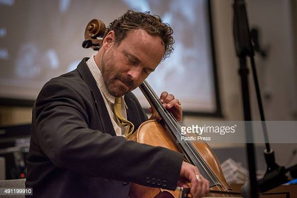 Cellist Michael Fitzpatrick performs his work Invocation for World Peace a piece for solo cello A special event organized by the Permanent Mission of...