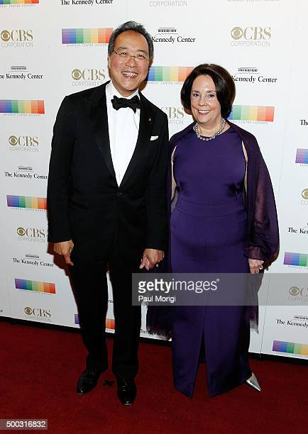 Cellist YoYo Ma and his wife attend the 38th Annual Kennedy Center Honors Gala at John F Kennedy Center for the Performing Arts on December 6 2015 in...