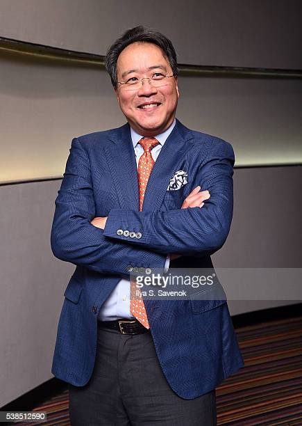Cellist YoYo Ma attends The Music Of Strangers New York Screening at Cinema 1 2 3 on June 6 2016 in New York City