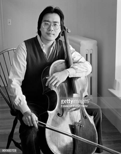 Cellist YoYo Ma New York 1982