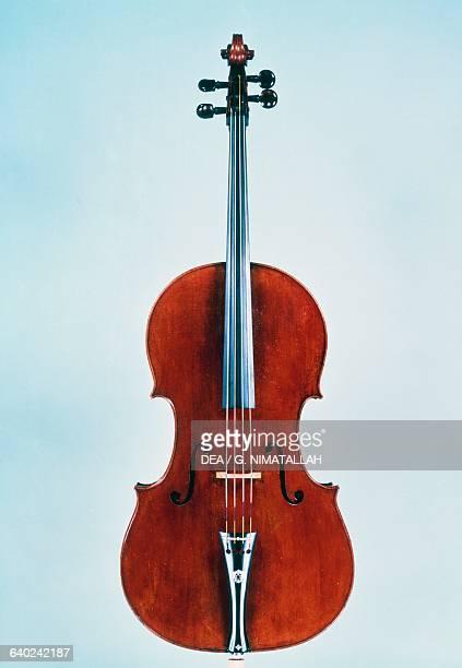 Cello by Antonio Stradivari Italy 17th century Florence Museo Strumenti Musicali Conservatorio Cherubini