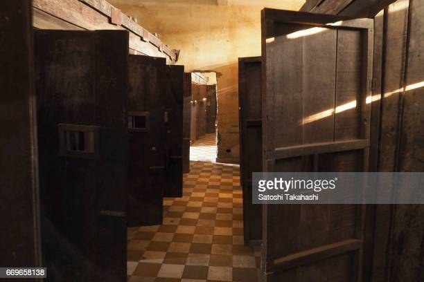 Cells at the S21 Tuol Sleng Genocide Museum The Khmer Rouge renamed the Tuol Svay Pray High School to Security Prison 21 in 1976 Estimated 20000...