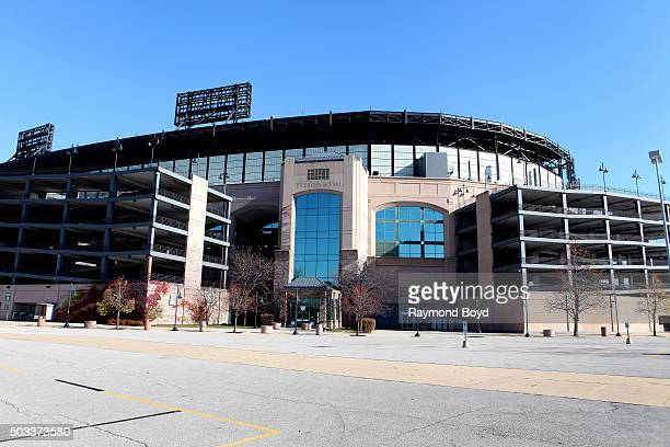 Cellular Field, home of the Chicago White Sox baseball team on November 8, 2015 in Chicago, Illinois.