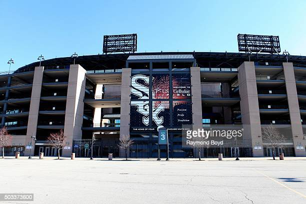S Cellular Field home of the Chicago White Sox baseball team on November 8 2015 in Chicago Illinois