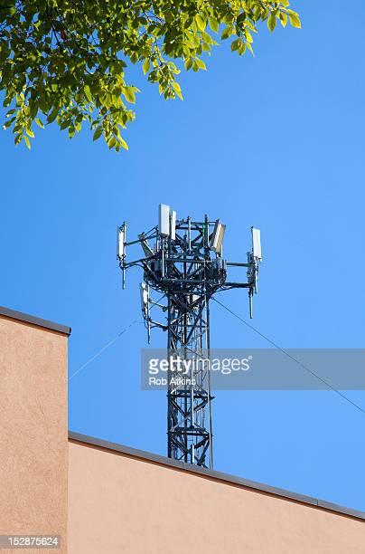 Cellular telephone transmitter tower