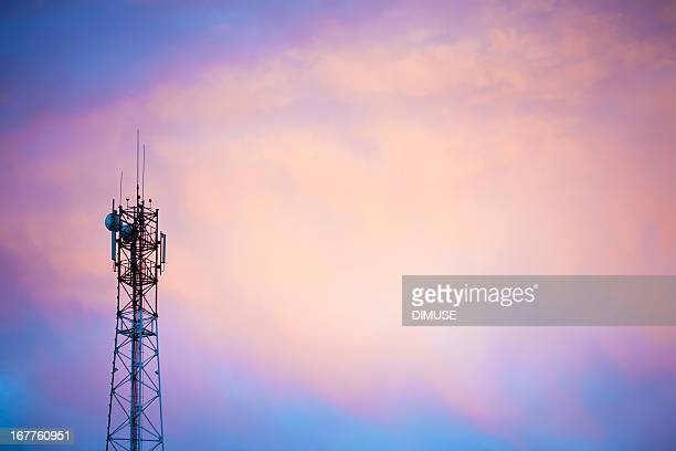 cellular tower - tower stock pictures, royalty-free photos & images