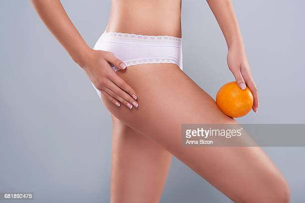 Cellulite is a problem every woman has to deal with. Debica, Poland