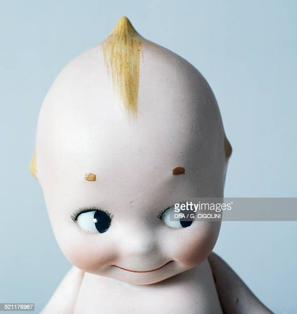 Celluloid Kewpie doll made by Kewpie United States of America 20th century Detail United States
