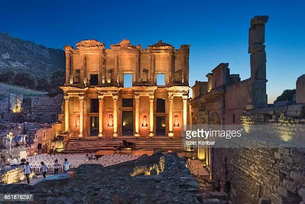 Celsius library, Ephesus, Izmir,Turkey