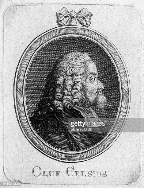 Celsius, Olof*19.07.1670-24.06.1756+botanist, philologist and clergyman- contemporary engraving
