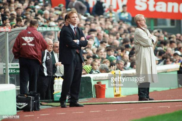 Celtic 1-0 Motherwell, league match at Celtic Park, Saturday 12th October 1996.