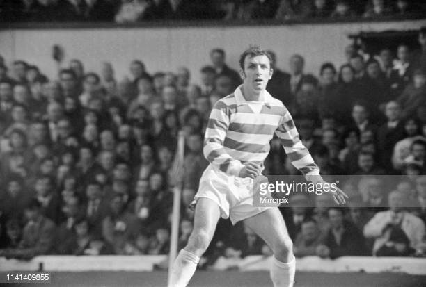 Celtic 3-0 Dundee, a.e.t. Scottish Cup Semi Final Replay, Celtic Park, Wednesday 11th April 1973; pictured: Jim Brogan, Celtic fullback.