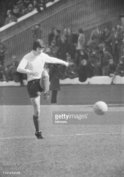 Celtic 30 Dundee aet Scottish Cup Semi Final Replay Celtic Park Wednesday 11th April 1973 pictured John Duncan Dundee Centre forward